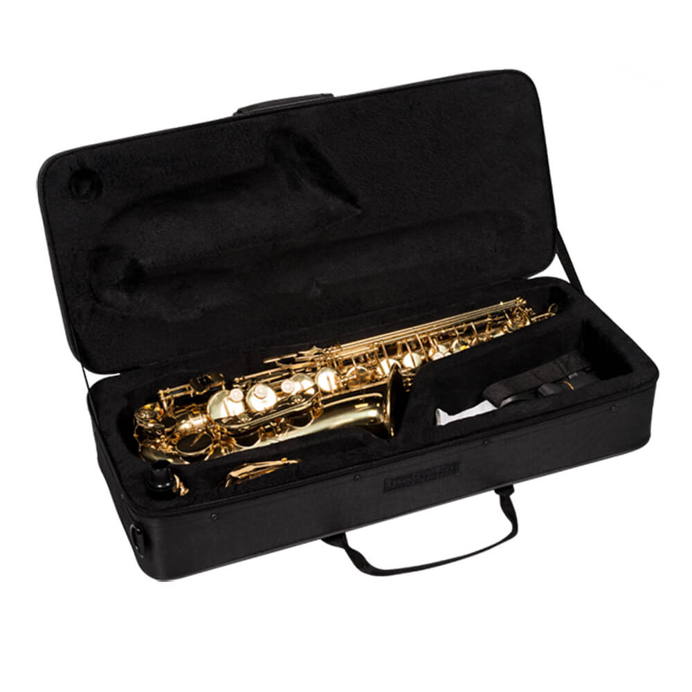 Saxofone Alto Vogga VSAS701N Laqueado em Eb (Mi Bemol)
