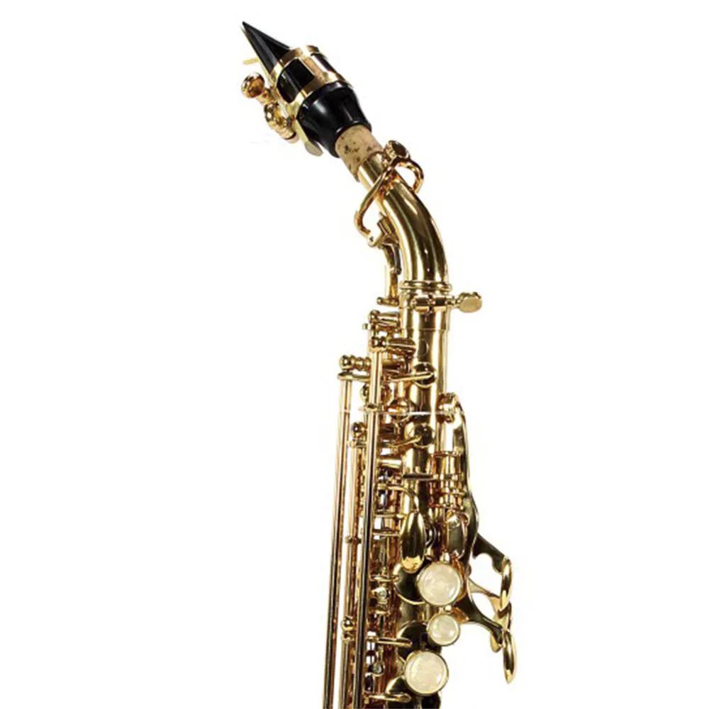 Saxofone Curvo Jahnke JSSCH001 Laqueado Si Bemol