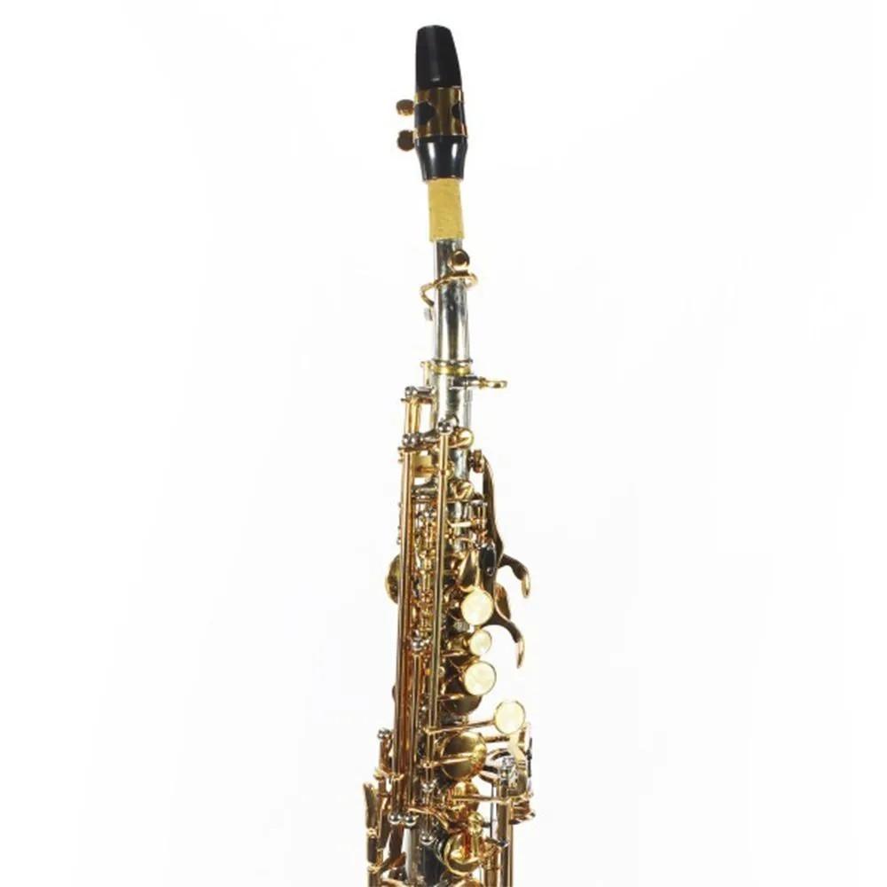 Saxofone Reto Jahnke JSSH001 Niquelado Laqueado Si Bemol
