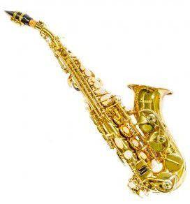 Saxofone Soprano Curvo Benson BSSC-1L Laqueado Bb