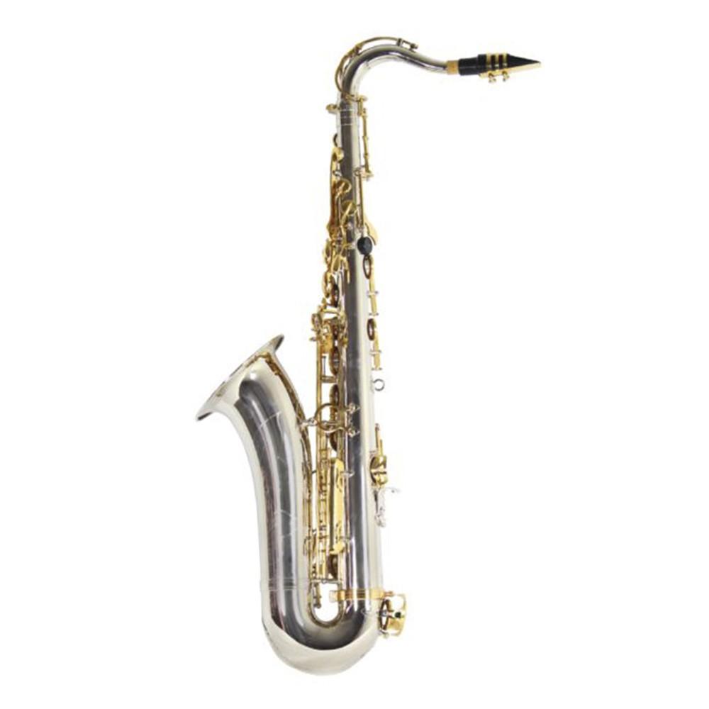 Saxofone Tenor Jahnke JSTH001 Niquelado Laquedo Si Bemol