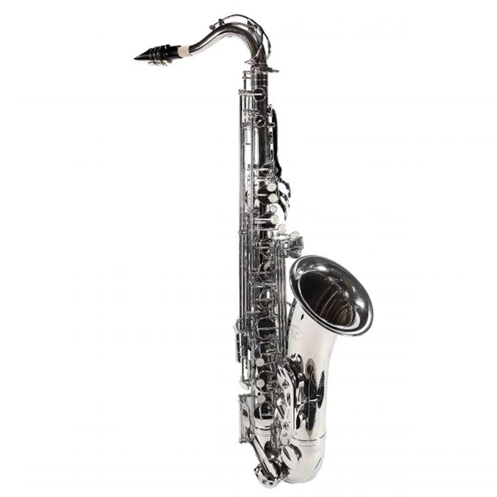 Saxofone Tenor Jahnke JSTH001 Niquelado Si Bemol