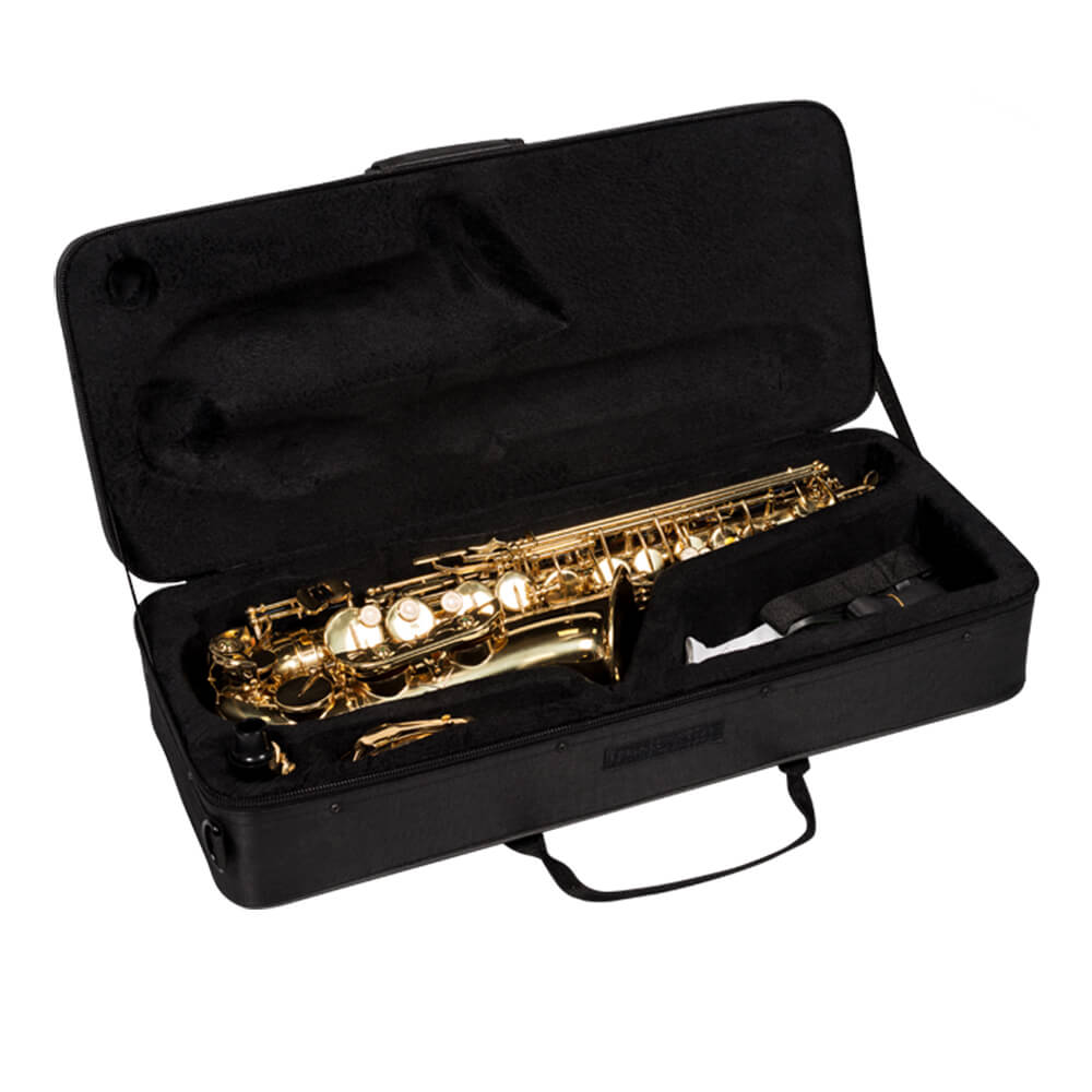Saxofone Tenor Vogga VSTS701N Laqueado em Bb (Si Bemol)