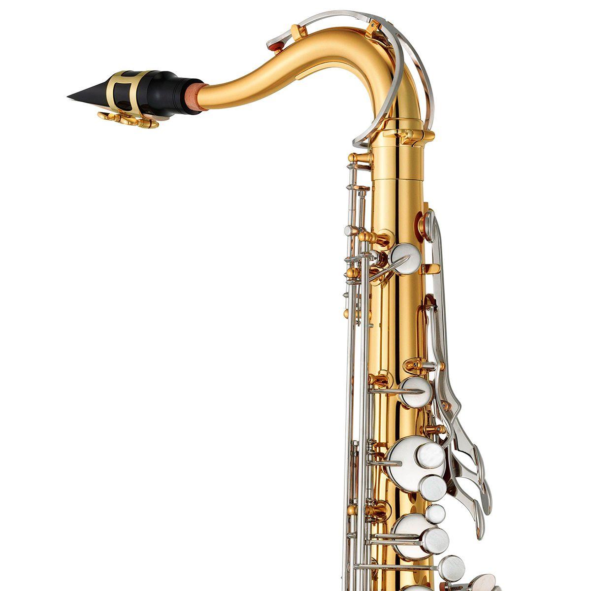 Saxofone Tenor Yamaha YTS26ID Bb Laqueado Dourado com Case