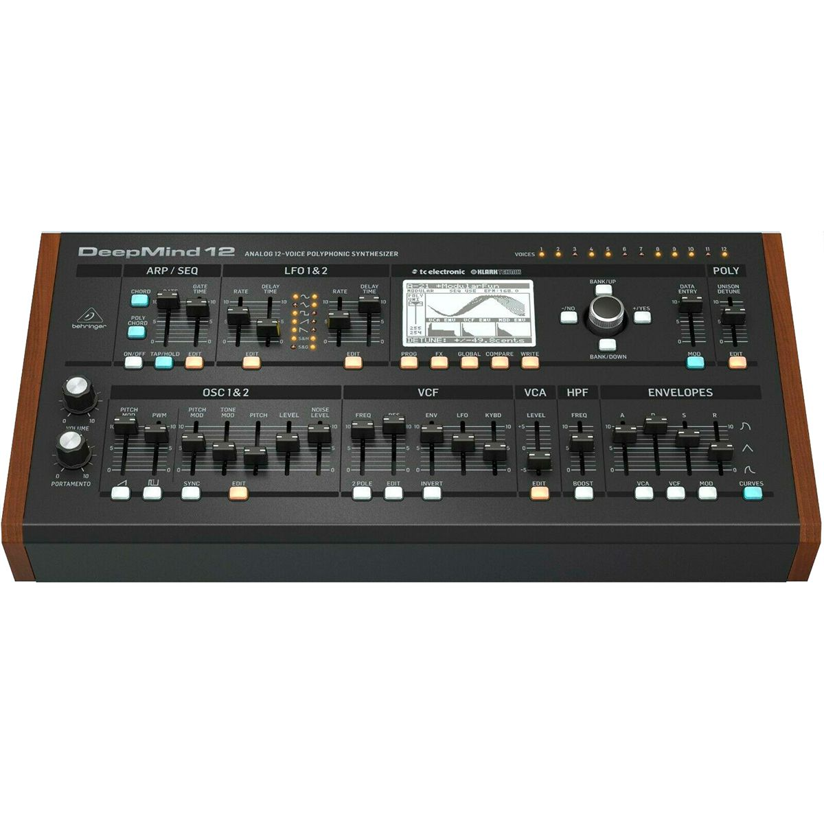 Sintetizador Analógico Behringer Deepmind12 D com12 Vozes