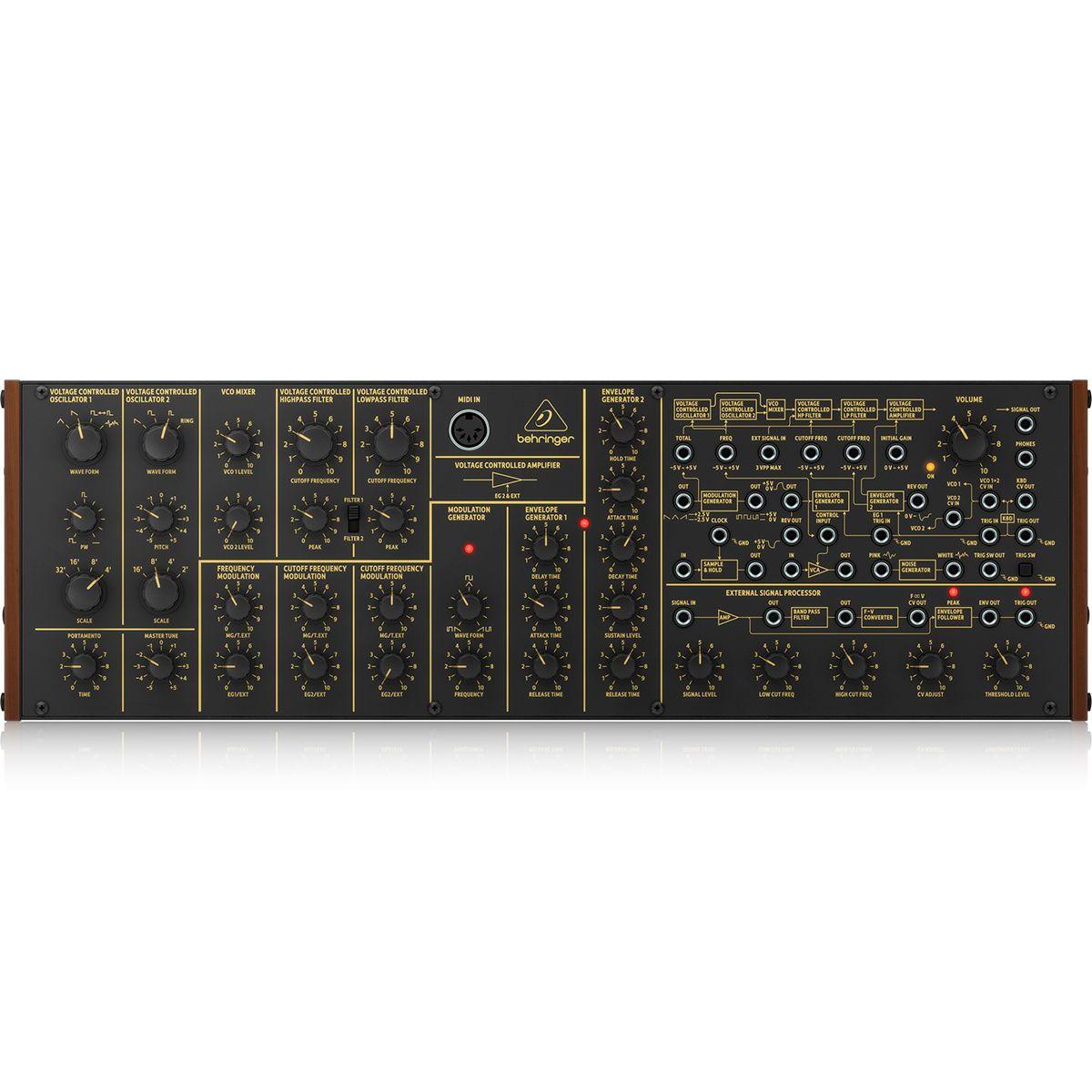 Sintetizador Analógico semi-modular Behringer K-2