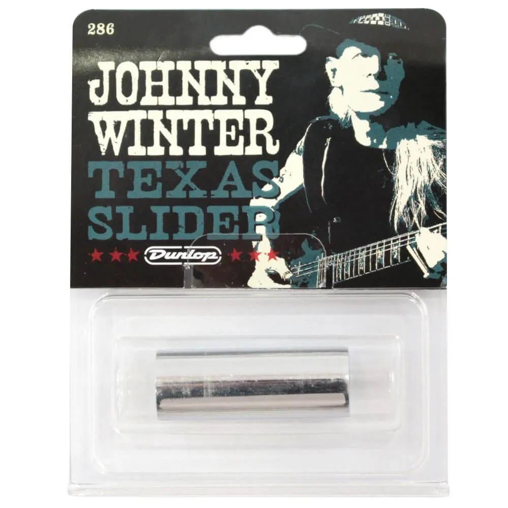 Slide de Aço Dunlop 286 Signature Johnny Winter Texas Slider Médio