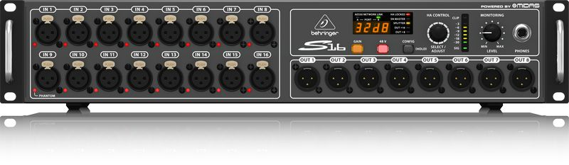 Stage Box Digital Snake Behringer S16 Midas