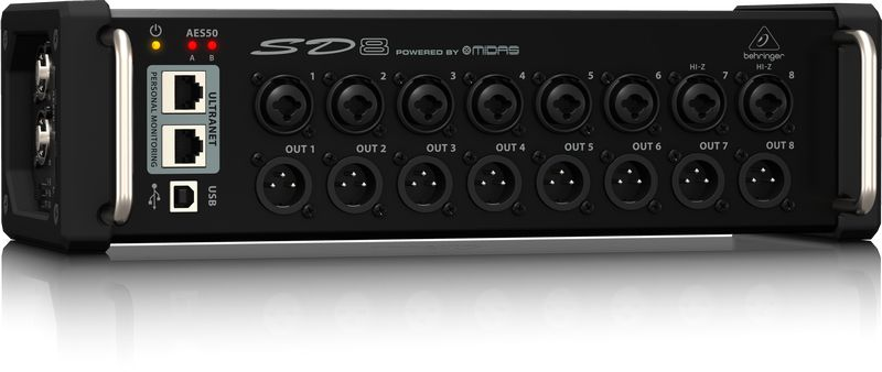 Stage Box Digital Snake Behringer SD8 Midas
