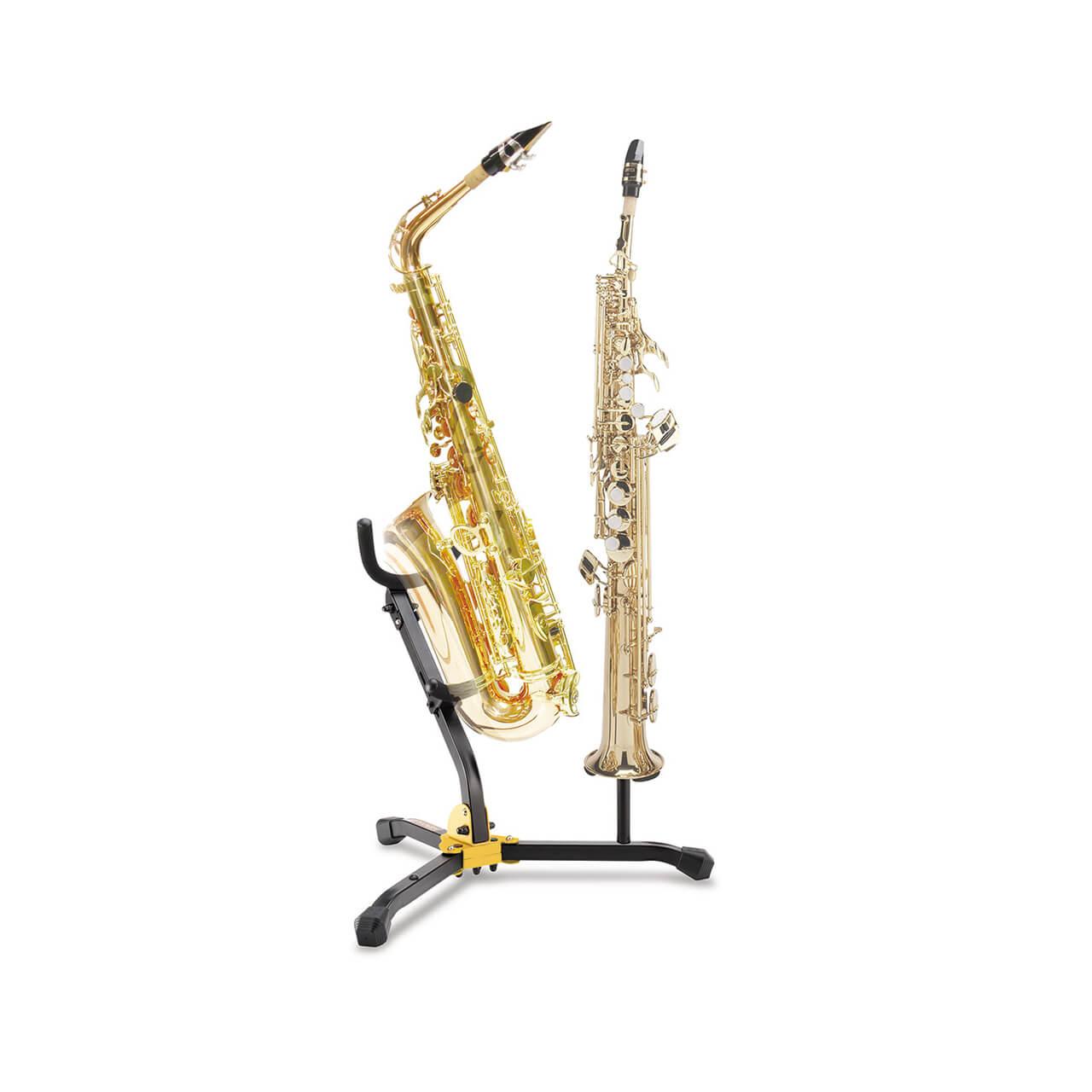 Suporte Combinado P/sax Alto Tenor Soprano Ds533bb Hercules