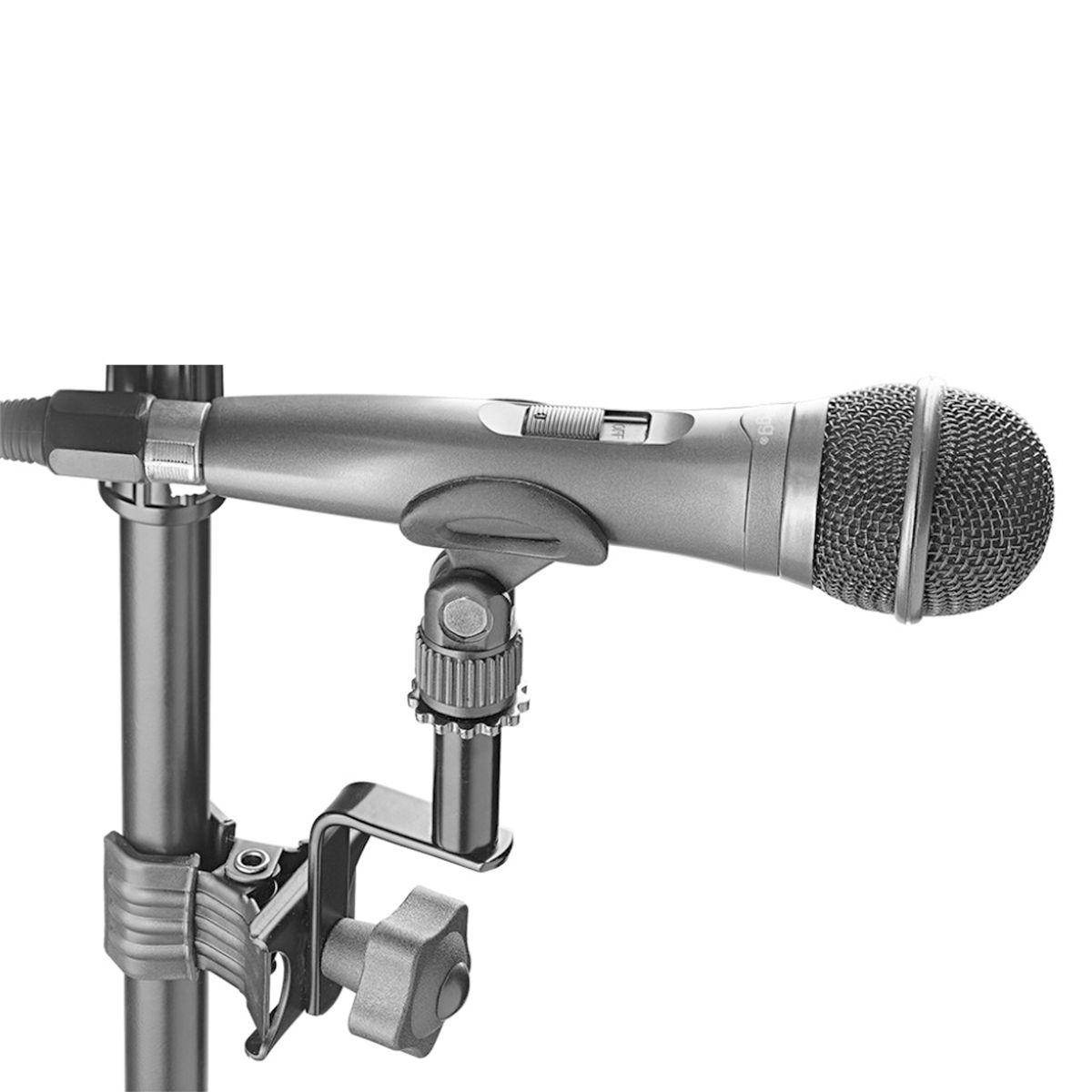 Suporte de Microfone com Braçadeira Stagg SCL-MIA