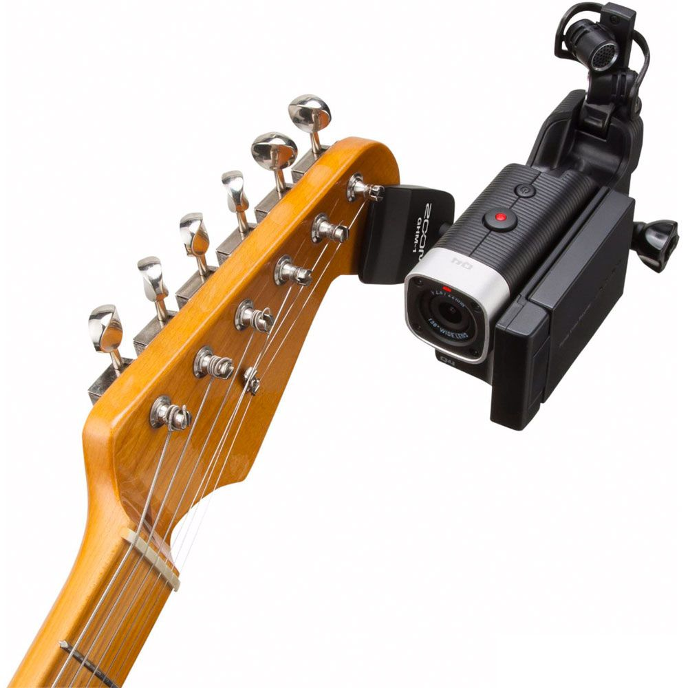 Suporte Headstock Zoom GHM-1 para Gravador Zoom Q4/Q4n