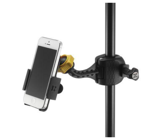 Suporte Hércules Holder DG200B para Smartphone com Ajuste Variáveis