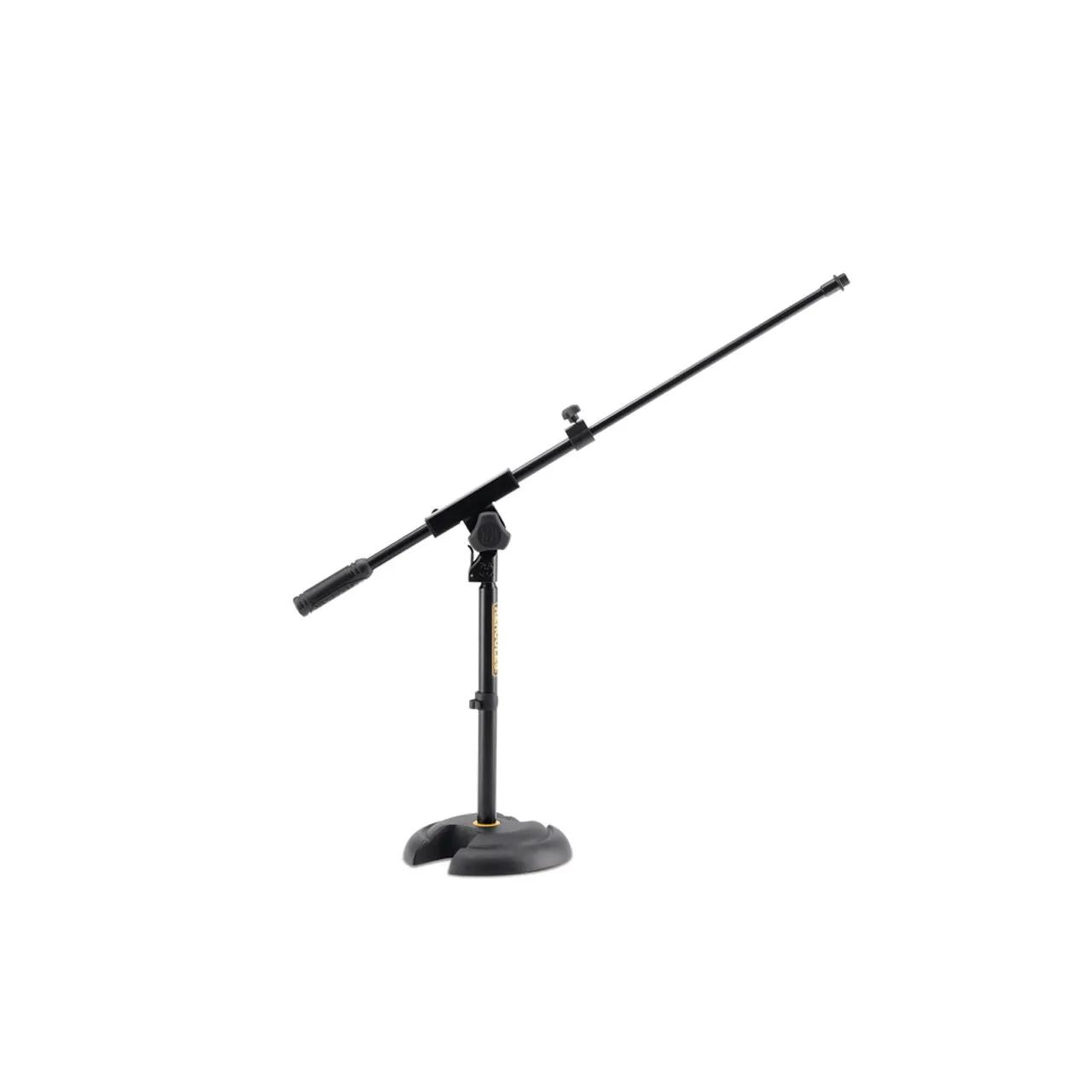 Suporte Pedestal Mini Girafa C/base Redonda P/ Microfone Ms120b Hercules