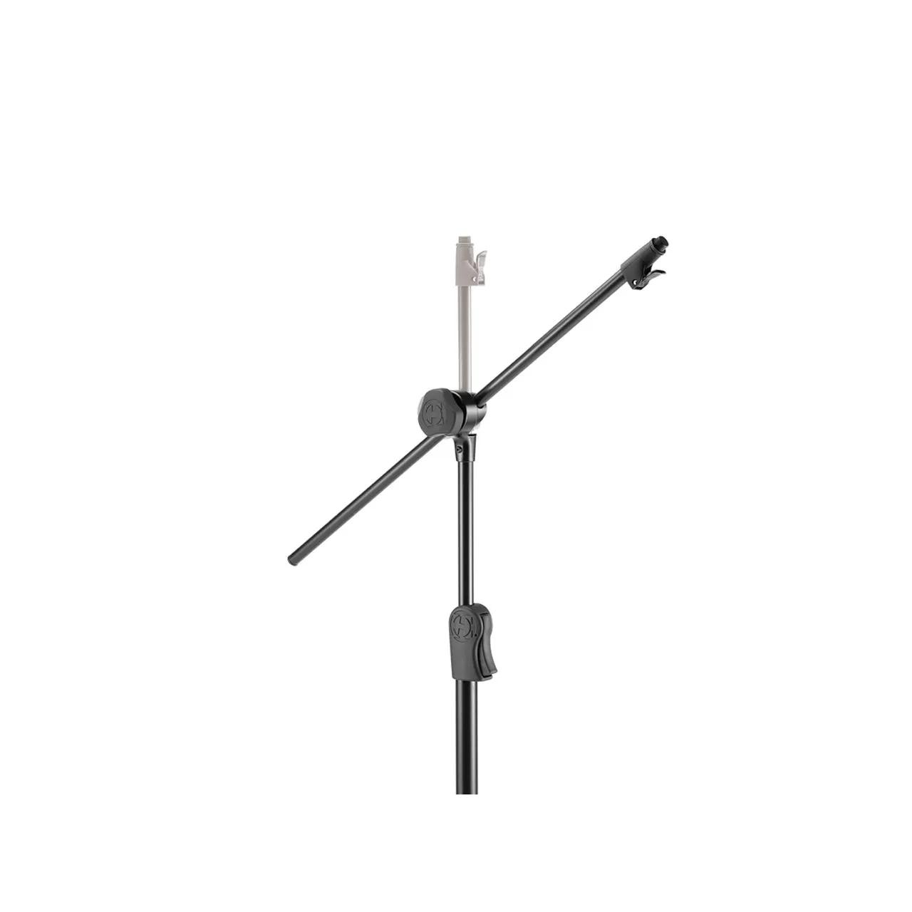 Suporte Pedestal Tripe P/microfone C/conversor Reto P/girafa Ms533b Hercules