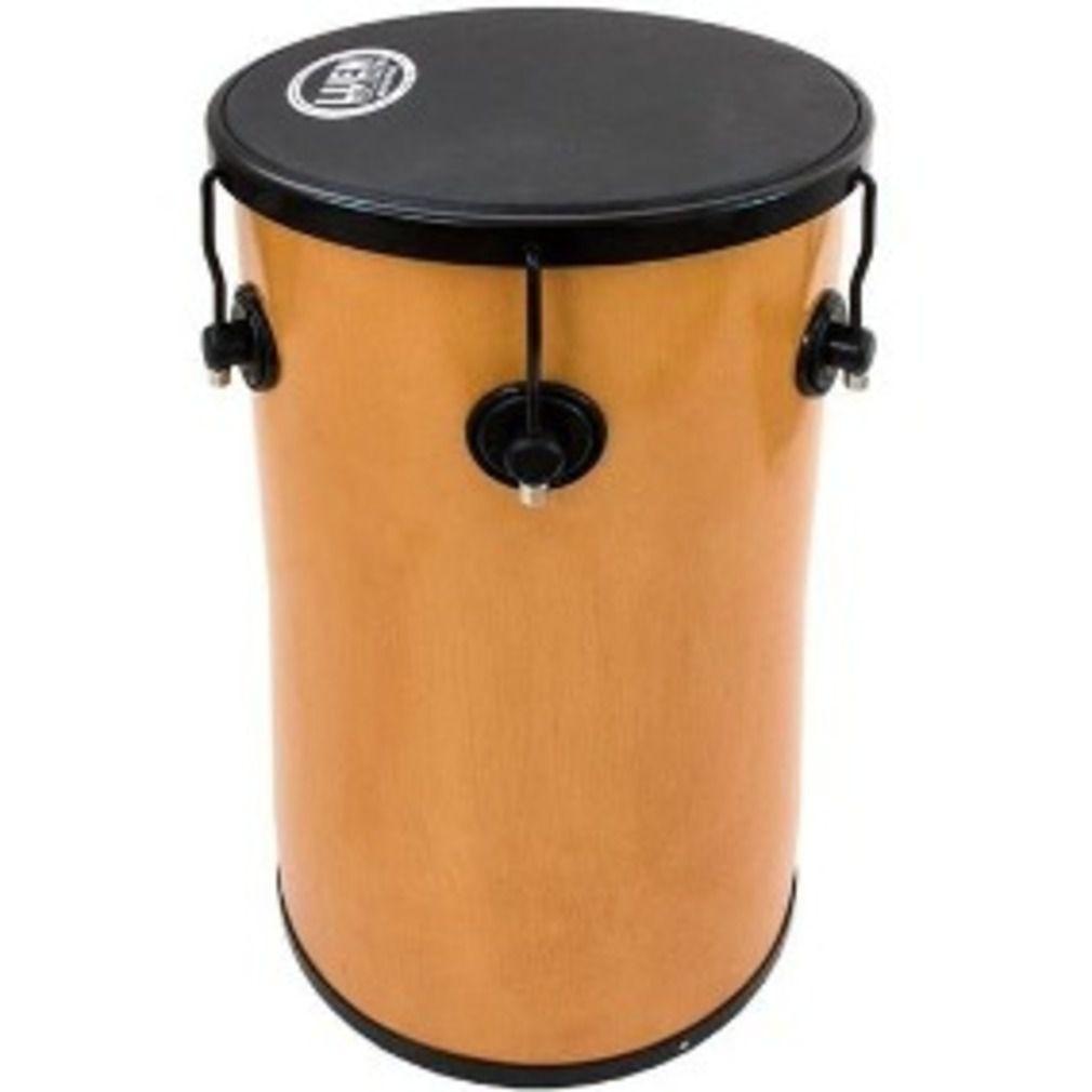 Tantan Luen Percussion 70x14 Cromadas Pop Preto com 6 Afinações
