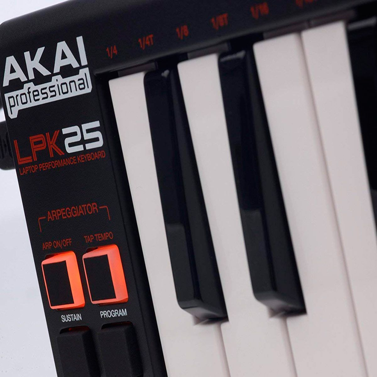 Teclado Controlador Akai Professional LPK25 V2 Mini 25 Teclas
