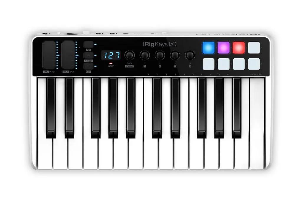 Teclado Controlador Ik Multimedia Irig Keys I/O 25 Teclas