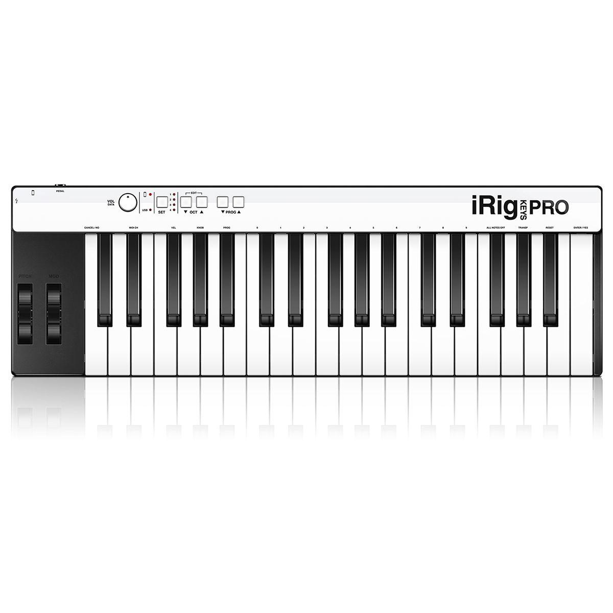Teclado Controlador IK Multimedia iRig Keys Pro 37 Teclas