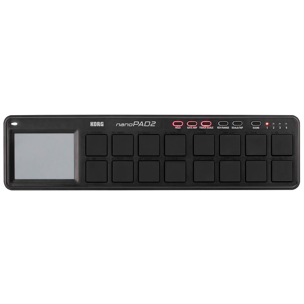Teclado Controlador Korg Nano Pad 2 Preto MIDI USB