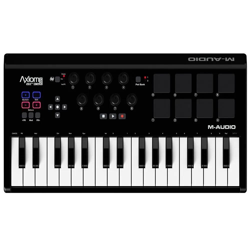 Teclado Controlador M-Audio Axiom Air Mini 32 Teclas