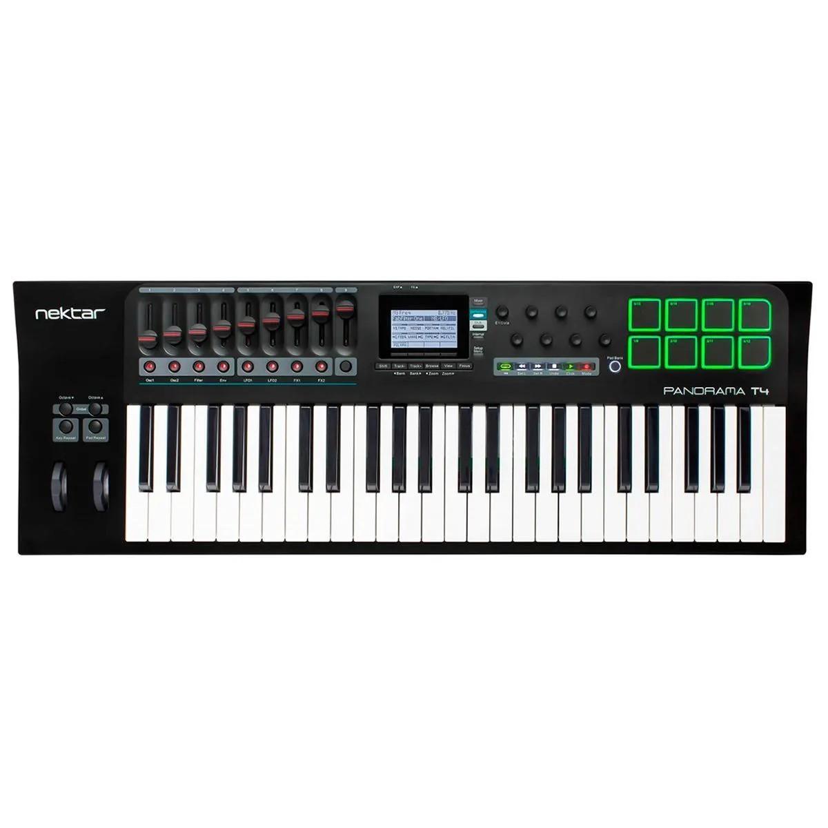 Teclado Controlador Nektar Panorama T4 MIDI USB 49 Teclas