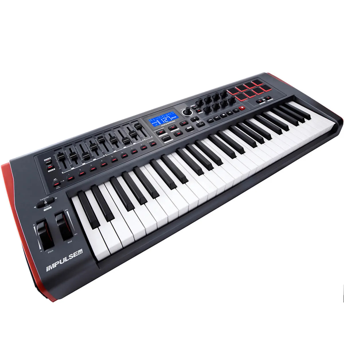 Teclado Controlador Novation Impulse 49 USB/MIDI