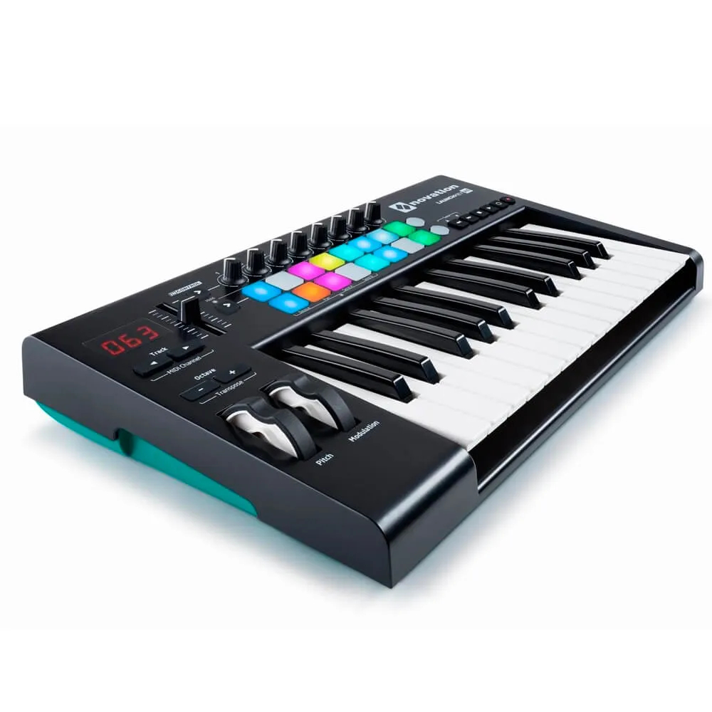 Teclado Controlador Novation Launchkey 25 MK2 USB