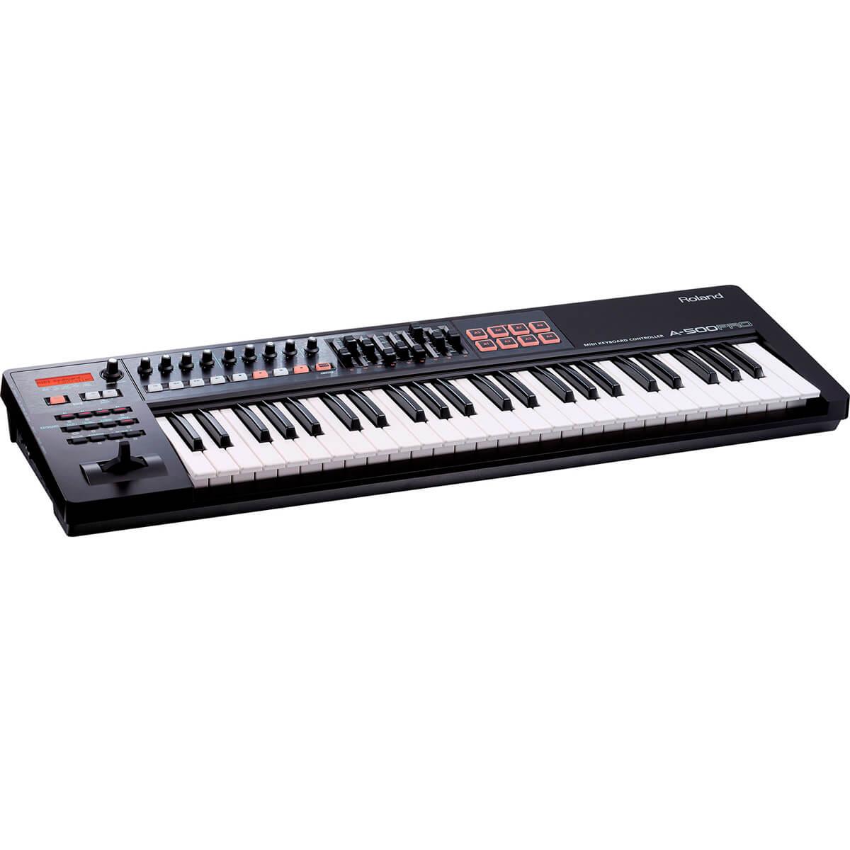 Teclado Controlador Roland A-800 PRO 61 MIDI/USB