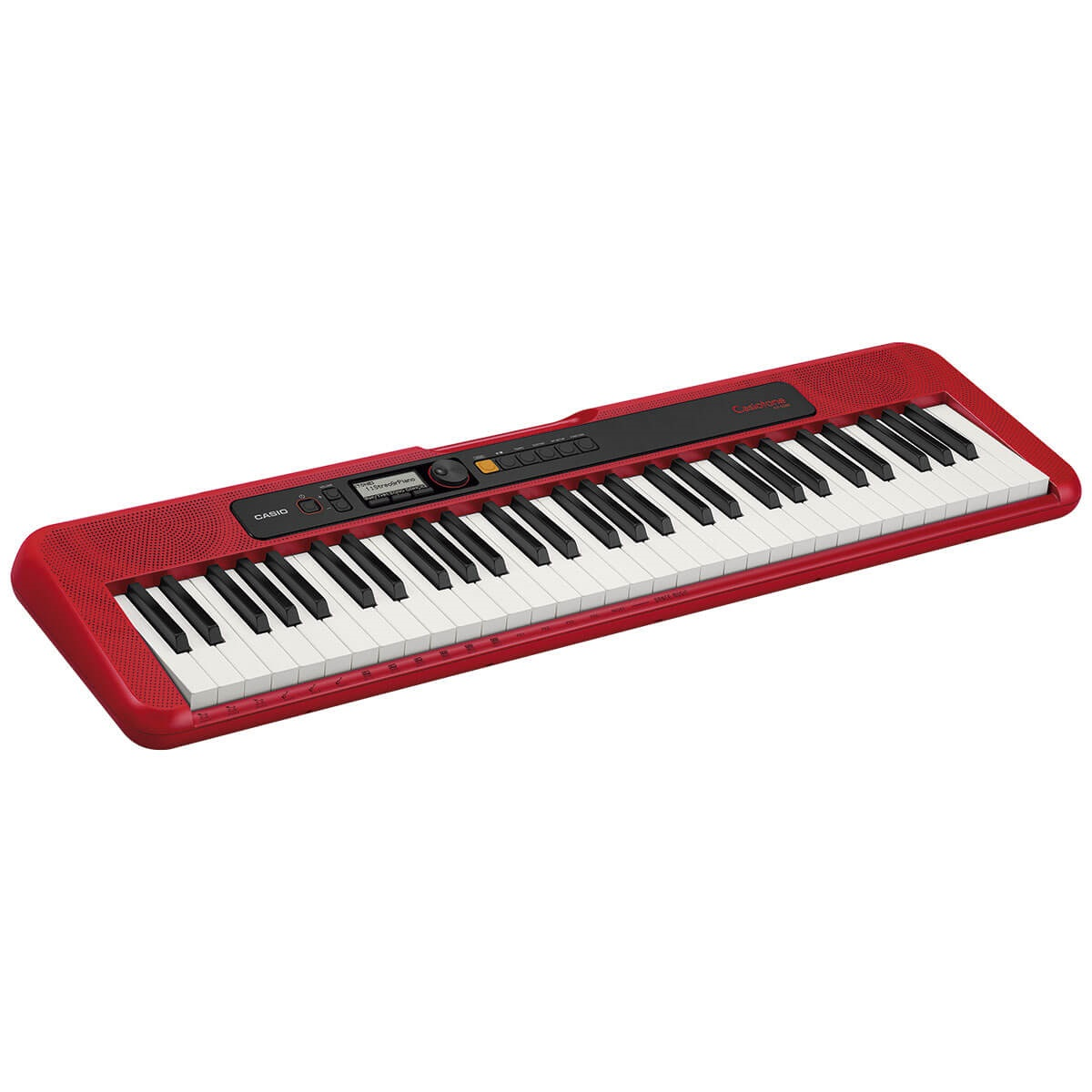Teclado Musical Casio CT-S200RD Casiotone Vermelho 61 Teclas