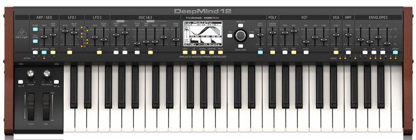 Teclado Sintetizador Behringer Deepmind12 49 Teclas
