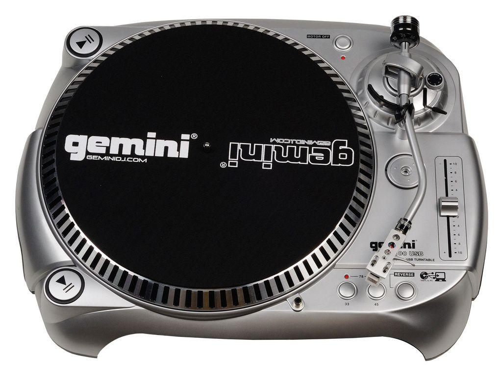 Toca Disco Gemini TT1100 USB