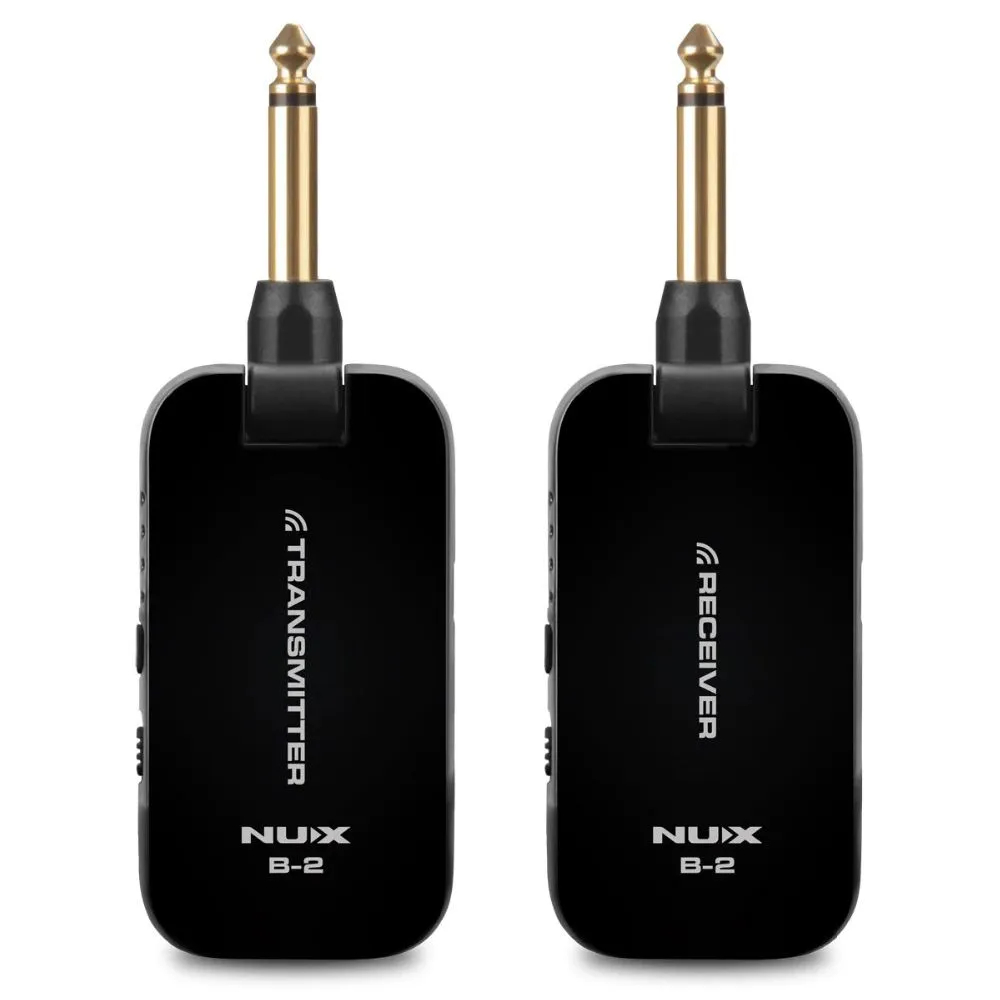 Transmissor Nux B2 Sem fio Wireless para Instrumento Musical