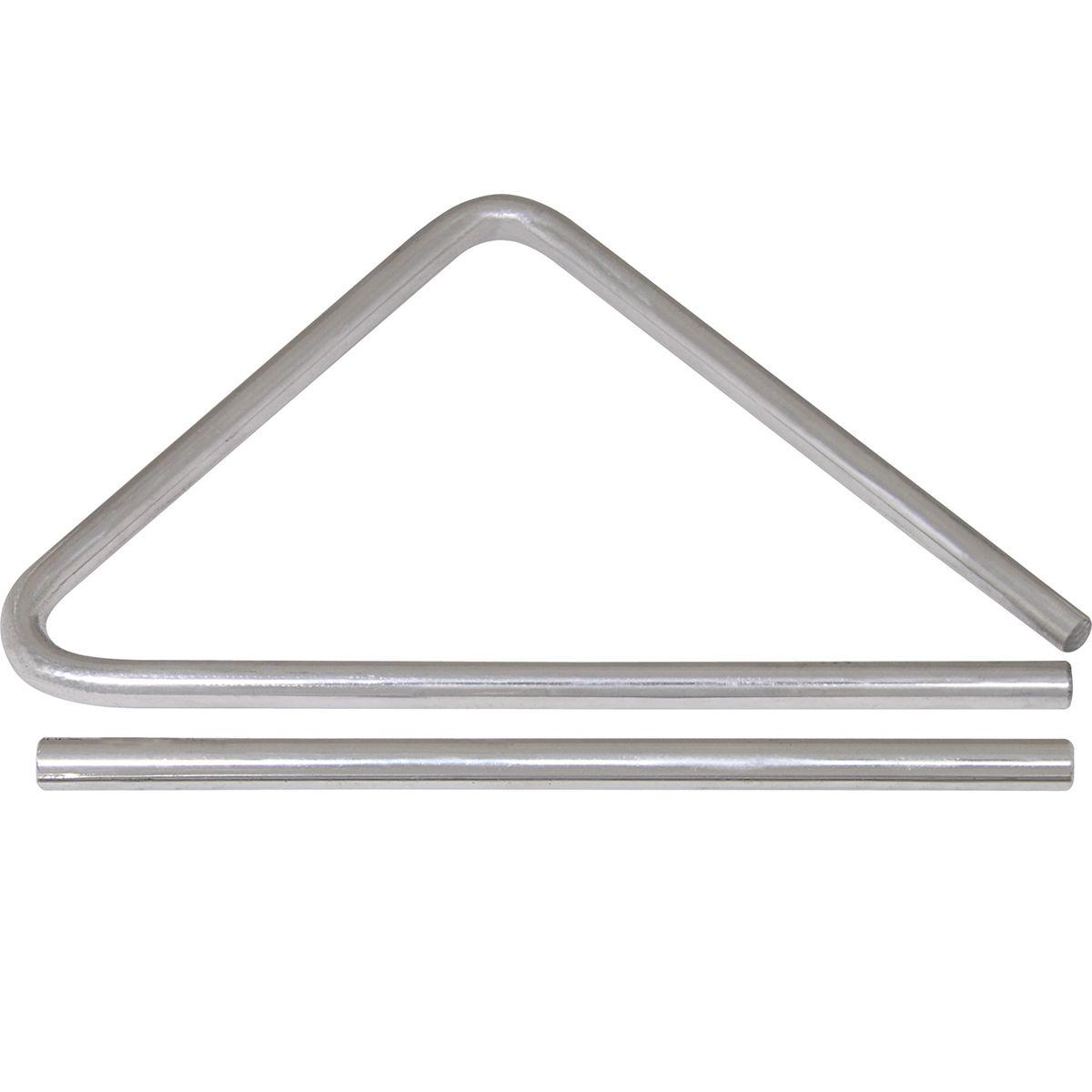 Triângulo Cromado Spanking de Aço 30cm