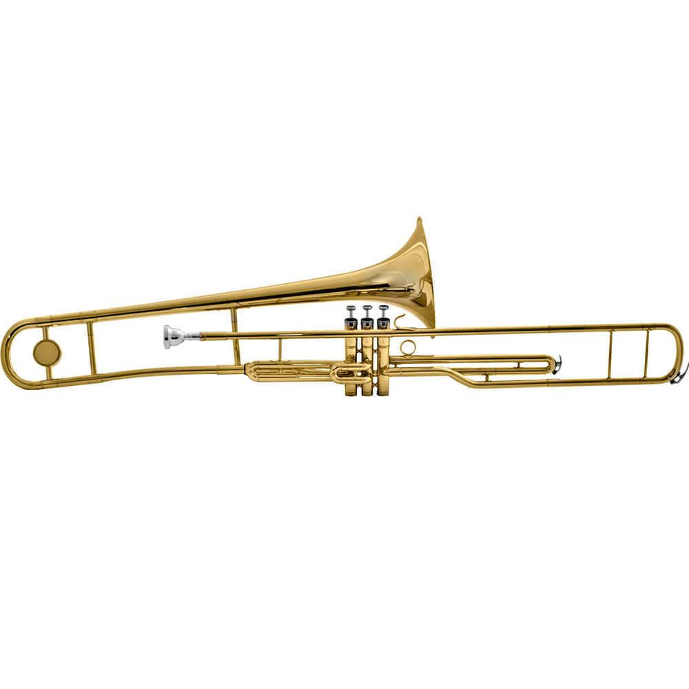 Trombone de Pisto Harmonics HSL-900L Laqueado Bb