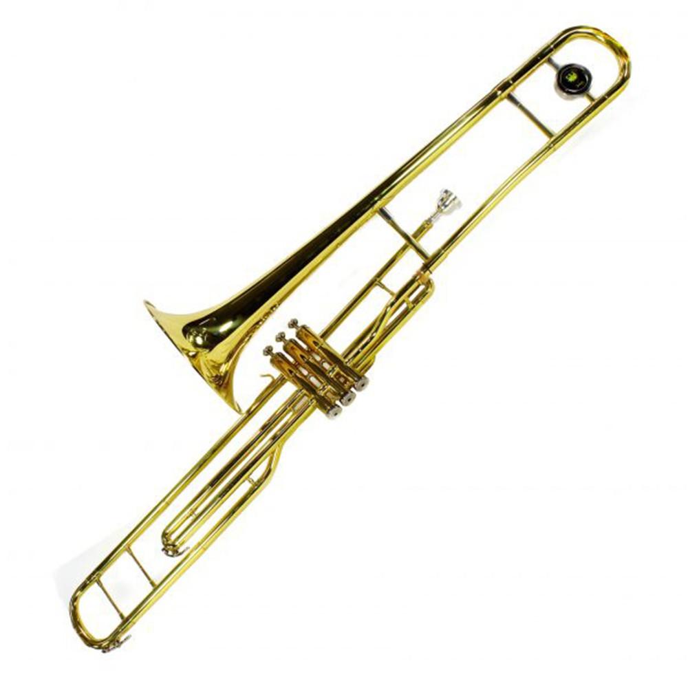 Trombone de Pisto Jahnke JTB009 Laqueado em Si Bemol