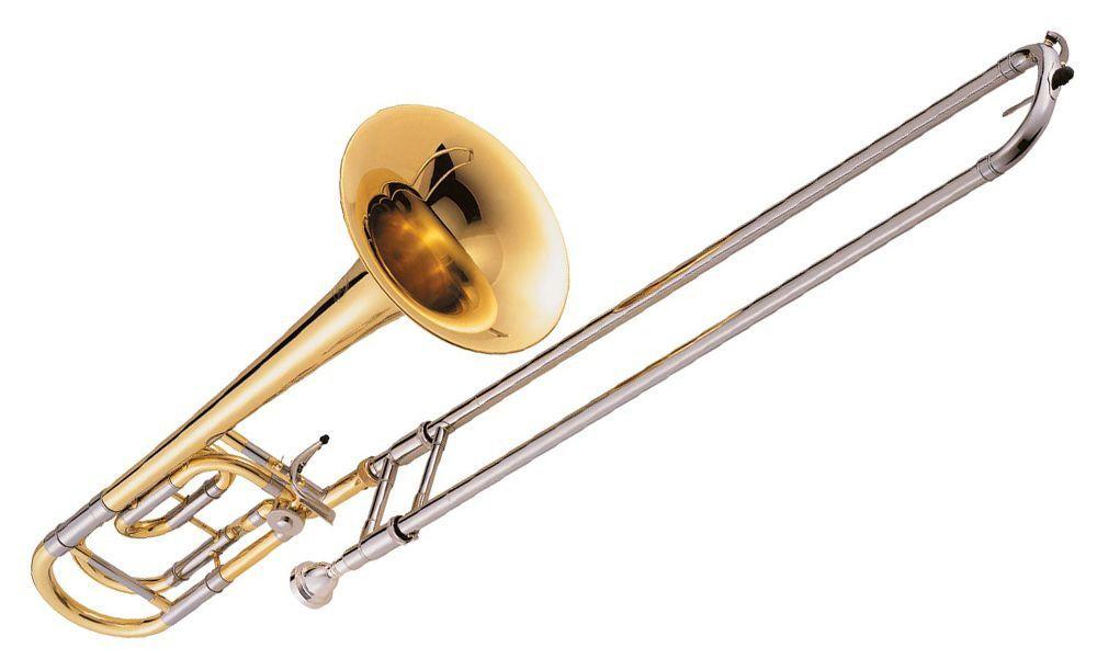 Trombone de Vara Jupiter JSL636 RLO Série 600 Bb/F Laqueado com Case