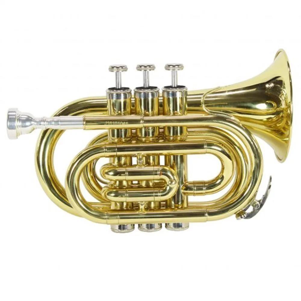 Trompete Pocket Jahnke JTR002 Laqueado Si Bemol
