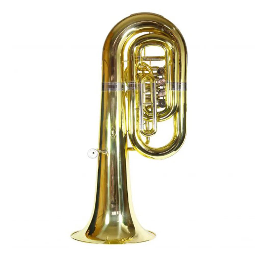 Tuba Sinfônica 4 Rotores Jahnke JTU202 Laqueado Si Bemol