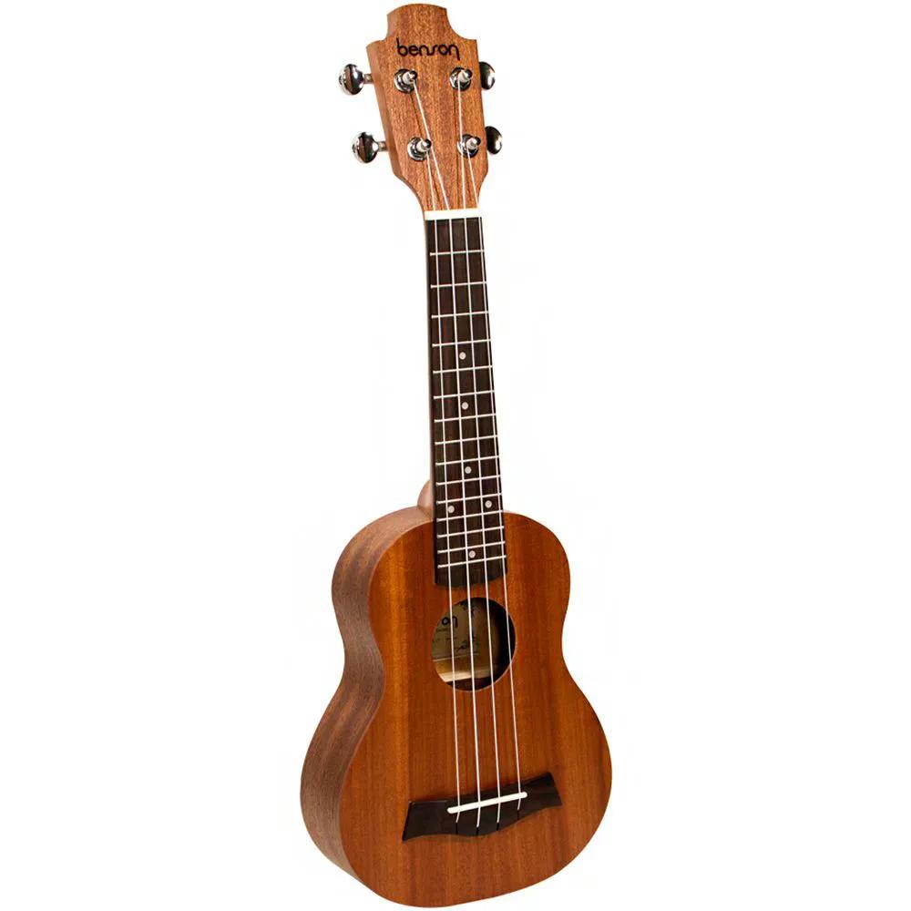 Ukulele Acústico Benson UB-21-B Soprano Sapele com Bag