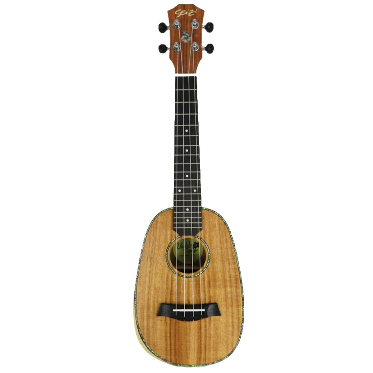Ukulele Acústico Seizi Bora-Bora Pineapple Concert Koa