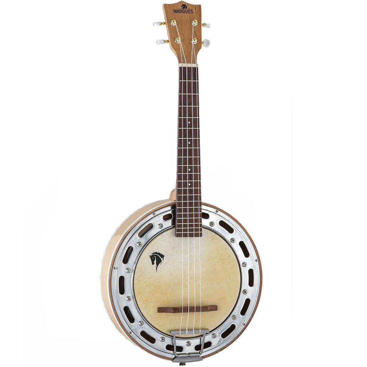 Ukulele Banjo Acústico Marquês BLLT-117 Natural