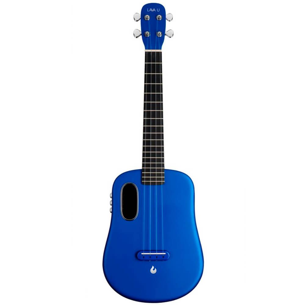 Ukulele Elétrico Lava Music Lava U Tenor Blue com Case