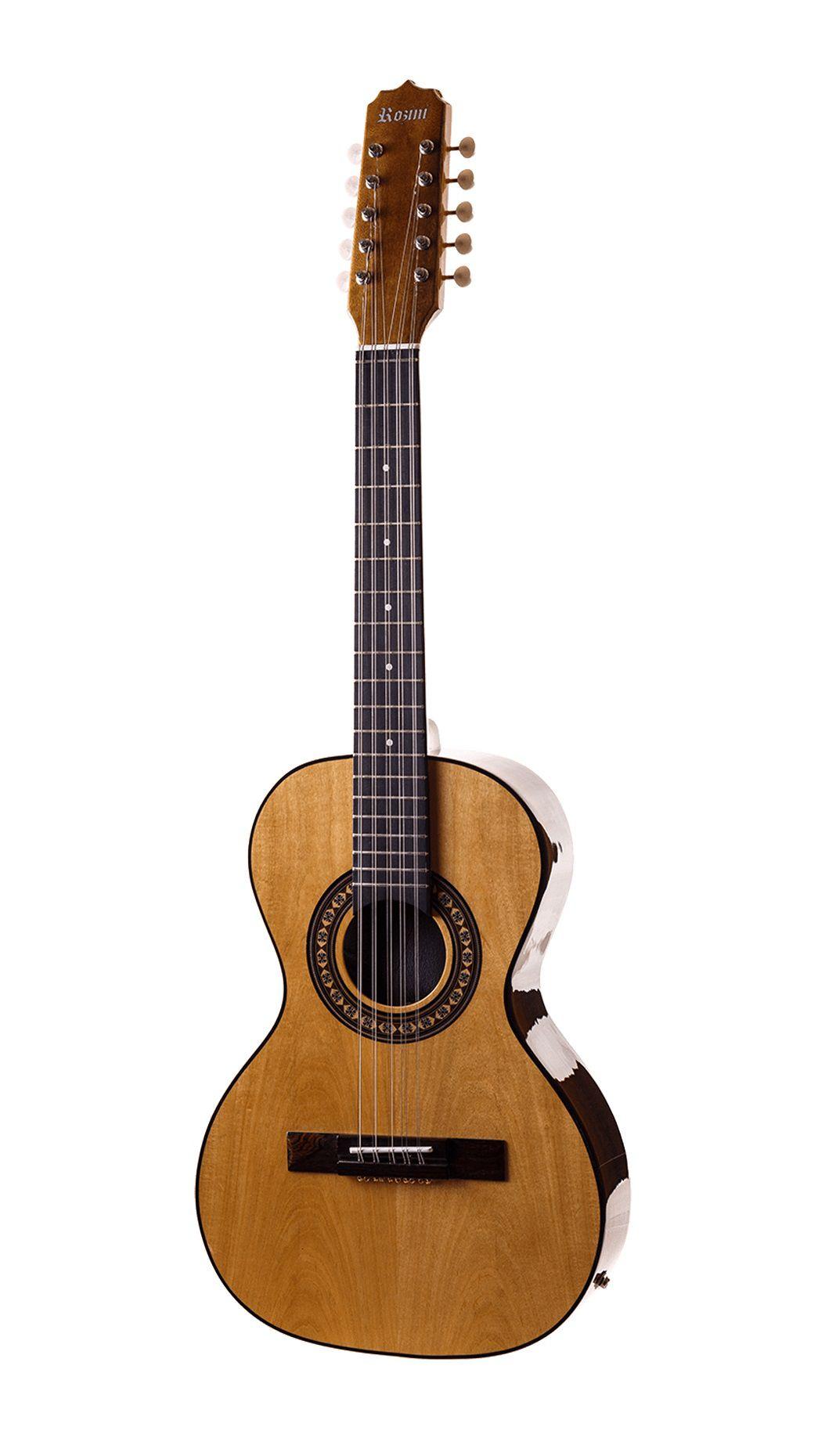 Viola Acústica Caipira Cinturada Rozini RV154ACN Natural