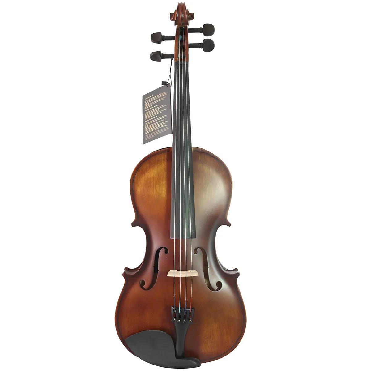 Viola de Arco Jahnke JVO010 3/4 Envelhecida com Case