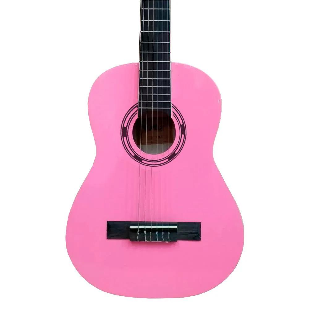 Violão Acústico Phx PX31 Infantil Nylon Rosa