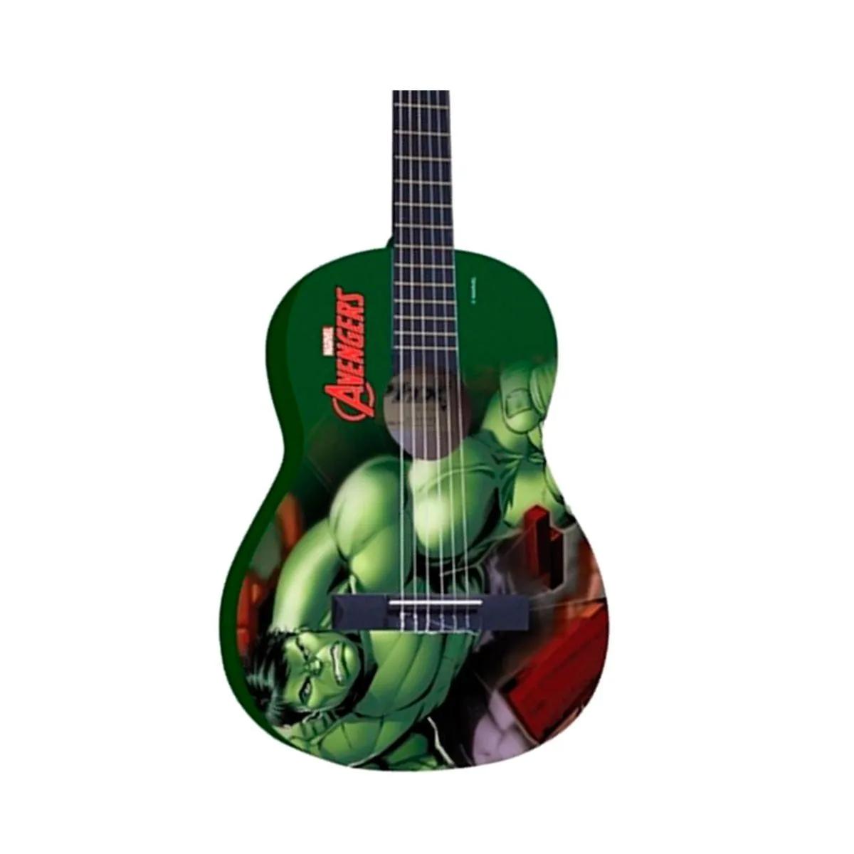 Violão Acústico PHX VIM-H1 Marvel Hulk Nylon com Capa