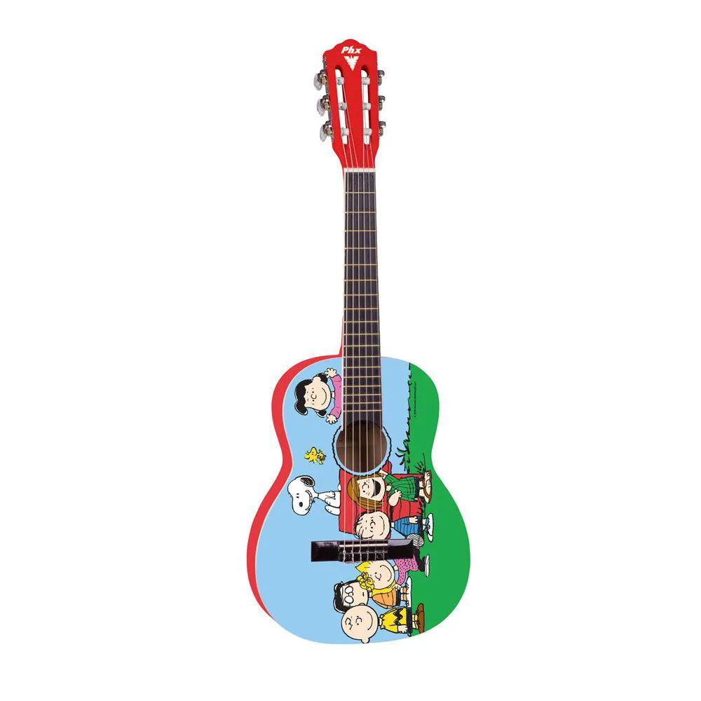 Violão Acústico PHX VIS-A1 Snoopy Amigos Nylon
