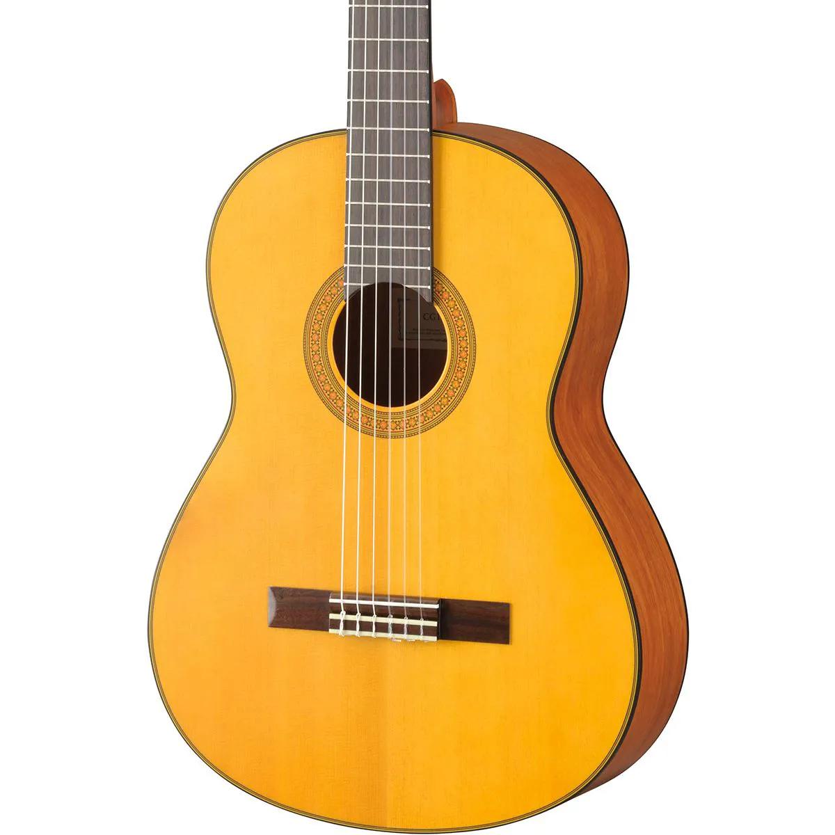 Violão Acústico Yamaha CG122 MS Clássico Nylon Natural