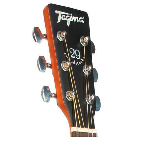 Violão Elétrico-Acústico Tagima TW-29 Medium Jumbo Black
